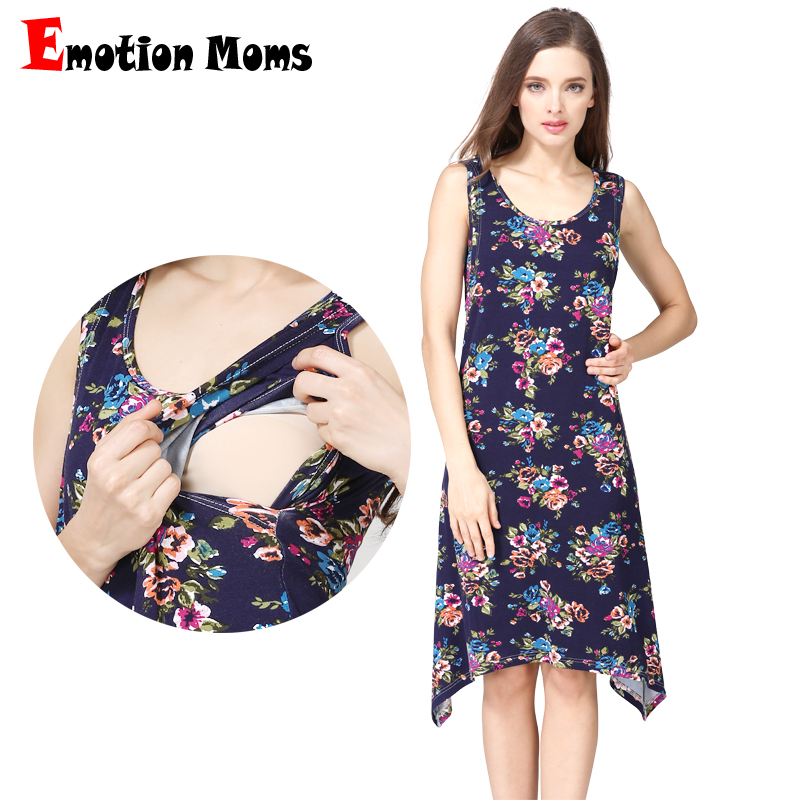 Emotion Moms Maternity Clothes Maternity Dresses Nursing pregnant dress pregnancy clothes for Pregnant Women Breastfeeding dress lycra knee length maternity dress for women pregnant trendy pink sleeveless tank dresses maternity clothes for expecting moms