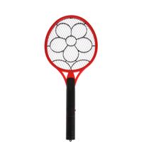 Electric Flyswatter Mosquito Swatter Hand Racket Pest Reject Insect Fly Killer Flycatcher Home Supplies AA Batteries Powered