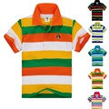 Top quality kids clothing boys t shirt  summer striped cotton short sleeve for 2 3 4 5 6 7 8 9 10 11 12 13 14 years