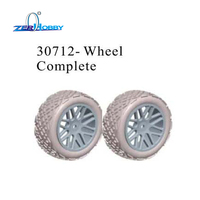 Hsp Racing 80mm Wheels Tires For RC Rally Off Road Buggy Truck HSP 1 10 94177