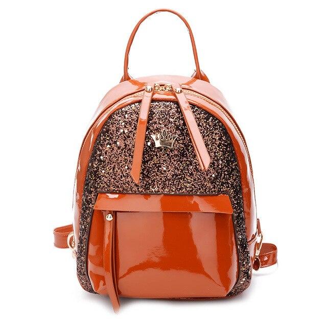 Glitter Backpack Women Sequin Backpacks Teenage Girls Bling Rucksack  Fashion Brand Gold Black School Bag Sequins mochila