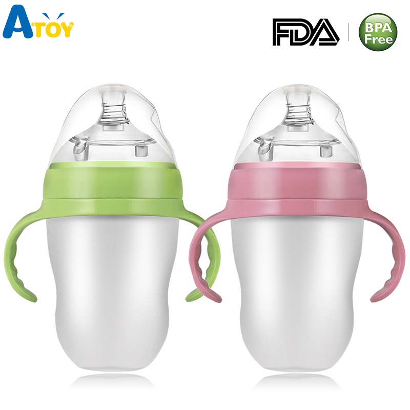 Silicone Squeeze Feeding Bottle Multi-function Feed Tool  Baby Food Paste Spoon