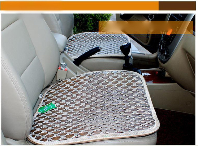 Summer Ice Silk Seat Cushion Cover Breathable Cooling Pad Mat For Car Office Chair