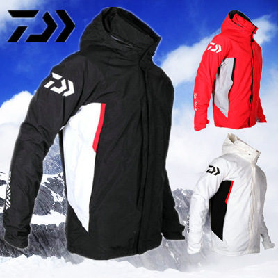 ФОТО 17 NEW DAIWAS Fishing jacket parka pants coat Two-piece suit waterproof Keep warm DAWA Autumn And Winterr DAYIWA Free shipping