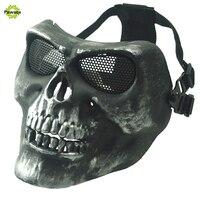 Straszny Party Maski Lateksowe Maski Czaszki Dorosłych Pełna Szef Twarzy Oddychająca Maska Halloween Fancy Dress Party Cosplay Costume Theater Zabawki