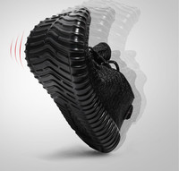 2017 men's sport running shoes music rhythm men's sneakers breathable mesh outdoor athletic shoe light male shoe size EU 39-46