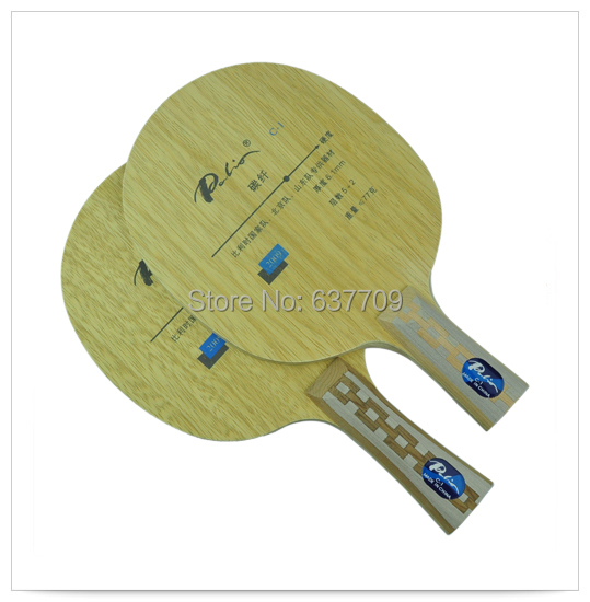 Original Palio C-1 (C1, C 1) Table Tennis Blade Wood And Carbon Fiber Table Tennis Racket For Fast Attack With Loop