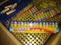 60 pçs/lote Peças Acessórios do Brinquedo Bateria Pesados 1.5 V Acessórios Do Brinquedo Da Bateria AA Bateria Frete Grátis