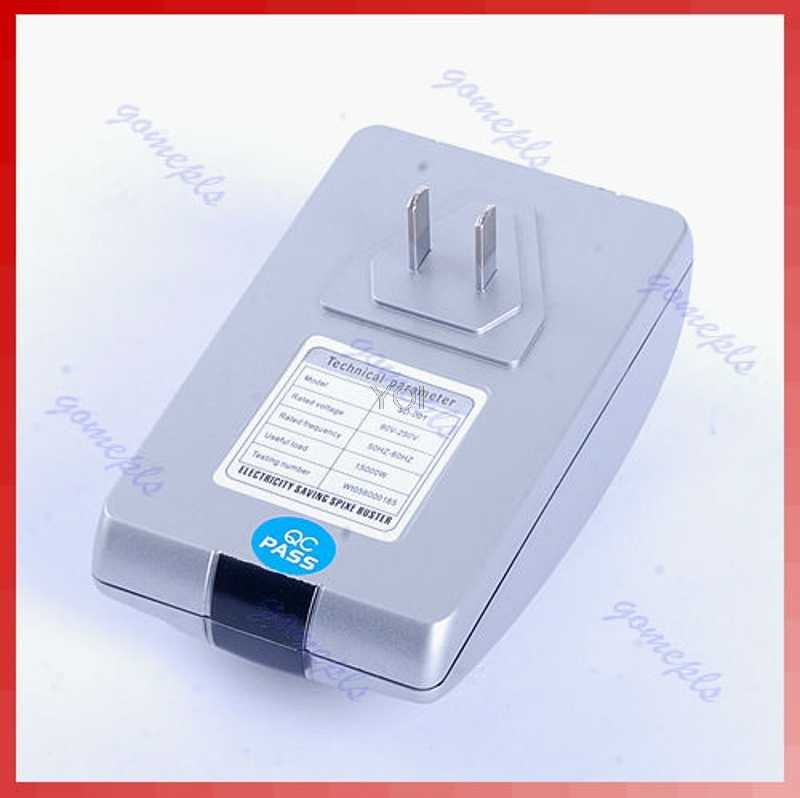 90V-250V Type Power Electricity Saving Box Energy Saver EU Plug New Drop ship