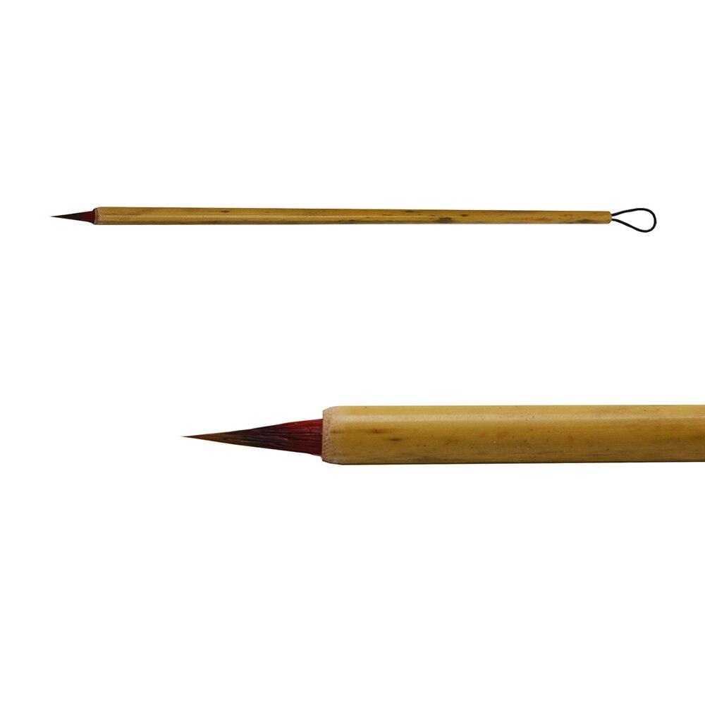 Watercolor Paint brush Chicken feather Small regular script Handmade Writing brush Watercolor pen Fly Head Copy Bible 1pcs