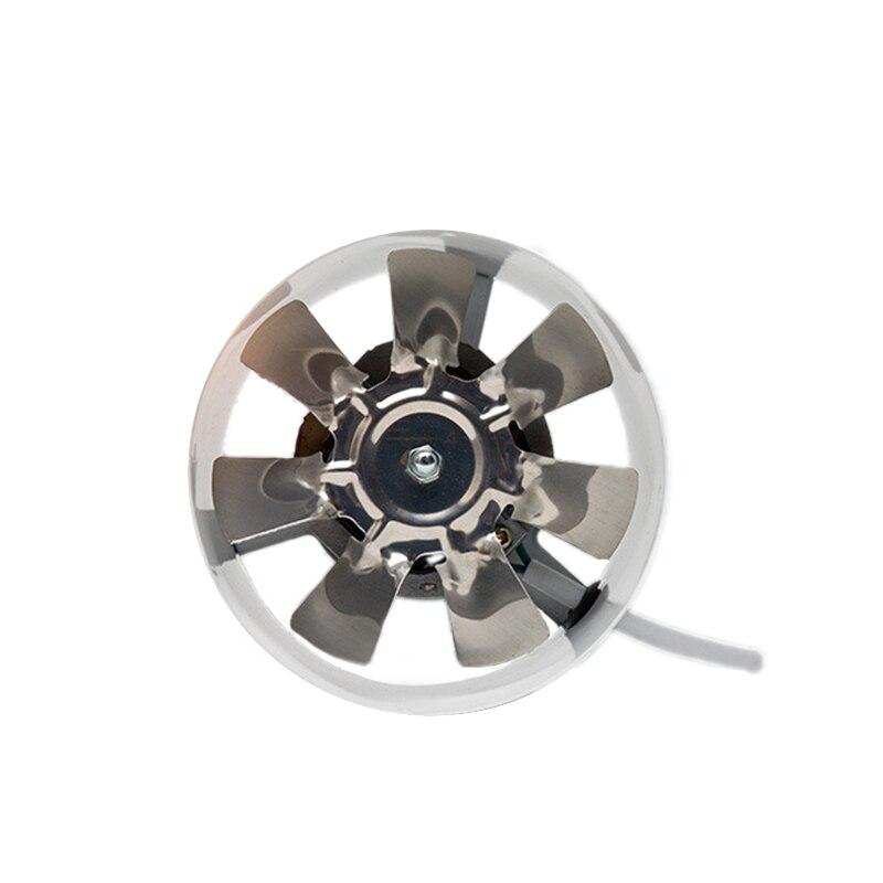 2800R/Min ventilador de ventilación de conducto de refuerzo de Metal 220 V 25 W 4 pulgadas ventilador de conducto de ventilación Accesorios