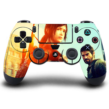 PS4 Controller Skin The Last Of US PVC HD PS4 Sticker Full Cover For Sony PlayStation4 Controller Skin PS4 Accessory