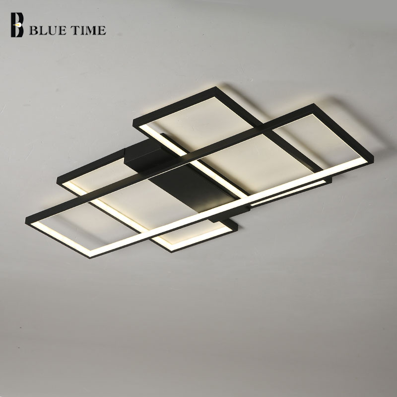 Modern Led Ceiling Light For Living room Bedroom Dining room Luminaires Rings Simple Led Chandelier Ceiling