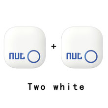 2Pieces Nut 2 Smart Key Finder itag Bluetooth Tracker Locator Luggage Wallet Phone Key Anti Lost Reminder Update from Nut mini(China)