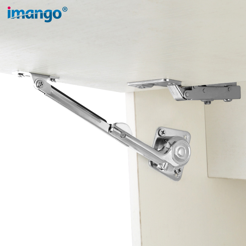 1 PCS Cabinet Support Cabinet Hydraulic Support Up and Down Door Bar Kitchen Hanging Wooden Frame Door Pressure Support Rod|Door Stops| |  -
