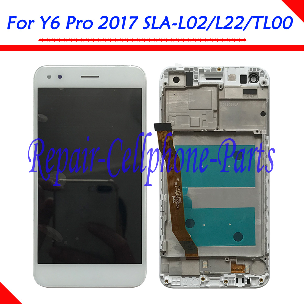 New 5.0 inch Full LCD DIsplay+Touch Screen Digitizer Assembly With Frame For Huawei Y6 Pro 2017 SLA-L02 SLA-L22 SLA-TL00New 5.0 inch Full LCD DIsplay+Touch Screen Digitizer Assembly With Frame For Huawei Y6 Pro 2017 SLA-L02 SLA-L22 SLA-TL00
