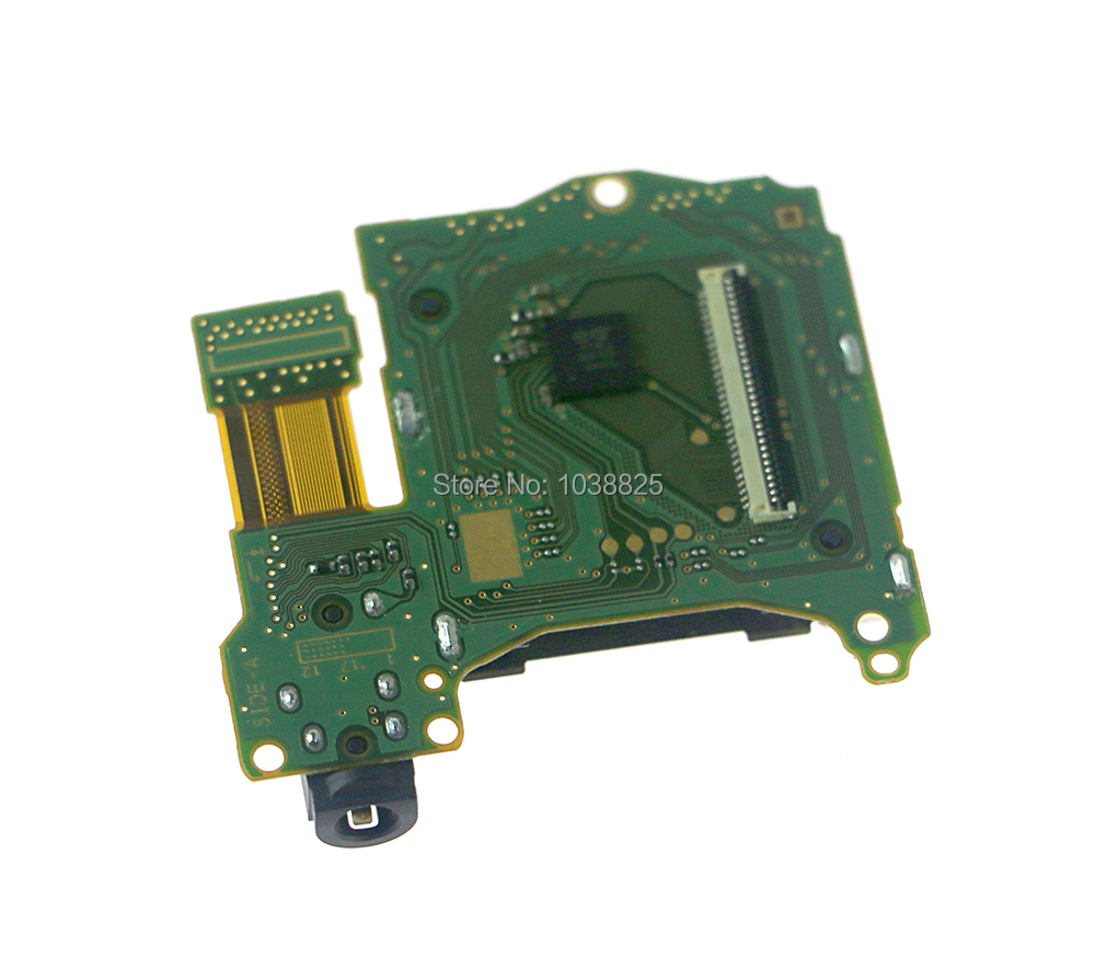 Original Game Card Slot Socket With Headset Headphone Board For Nintend Switch NS Switch Game Console Replacement Repair Part
