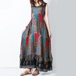 0c5d27a03d71 2018 summer plus size dresses for women Long Maxi Big size
