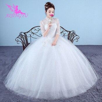 AIJINGYU wedding dresses bride formal dress gown mother WK325