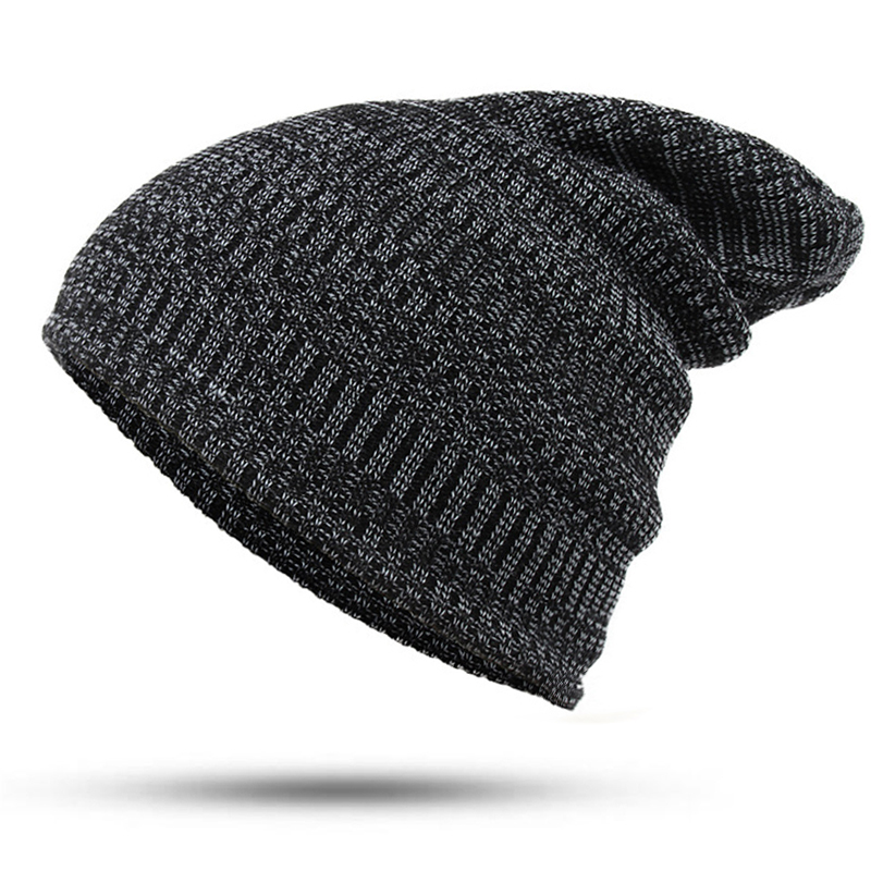 3 Color Wool Winter Hat female Male Unisex knitted Skullies Bonnet Casual Hat For Men Women Colorful Autumn Beanies Caps new winter male and female cartoon glasses color embroidery knitting wool hat warm hat hedging hat skullies m144