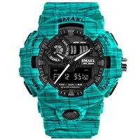 Relógios Dos Homens Do Esporte Ao Ar Livre Militar À Prova D' Água Relogio masculino Digital Wristwach Moda Camo Crianças Relógio Menino Relógio Saati Erkek