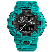 Relogio Masculino Men Sport Watches Outdoor Waterproof Military Digital Wristwach Fashion Camo Kids Boy Watch Clock