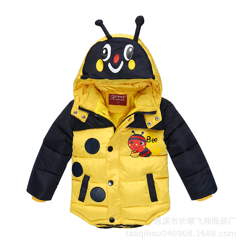 Boy jacket, winter coat, boy bee, baby boy, warm coat, children's clothing baby boy jacket.2-6T single boy