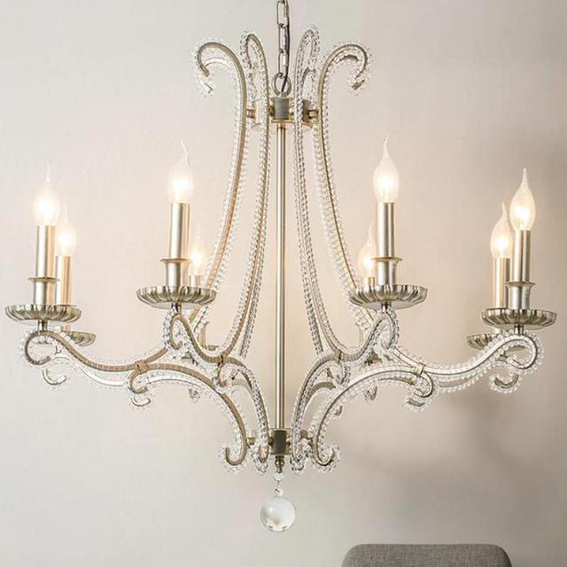 Francese In Metallo Pressofuso lampadario per soggiorno ...