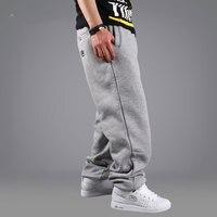 2016 Sıcak Satış Gelgit erkek hip-hop pantolon HIPHOP pantolon gevşek hip-hop pantolon hip-hop giyim erkek rahat moda pantolon Ücretsiz nakliye