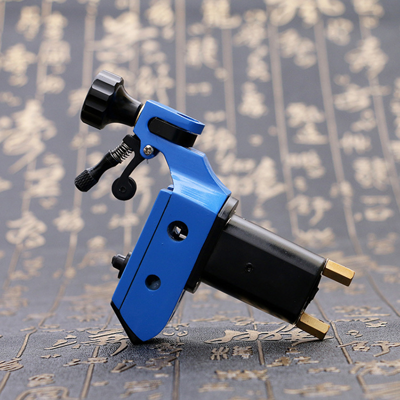 Professional Tattoo Machine For Shader And Liner Assorted Tatoo Motor Gun Kits Supply Black/Blue/Silver/Green hot professional handmade tattoo gun for shader