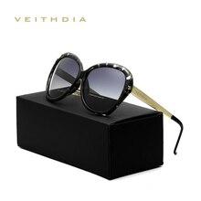 VEITHDIA Retro Sunglasses Women Brand Designer Sexy Ladies Sun Glasses Eyewear A
