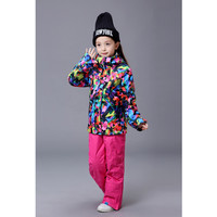Counter Genuine Snow Gsou Children S Ski Clothing For Girls Ski Clothing