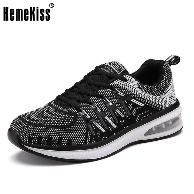 Men Shoes Women Unisex Couple Trainers Mesh Breathable Fly line Knitted Fabrics  Outdoor Jogging Flats Valentine Mixed Color