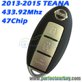 KR5S180144014 3button 433.92Mhz 47Electric chip S180144014 auto smart car smart key for Nissan Teana 2013 2014 2015