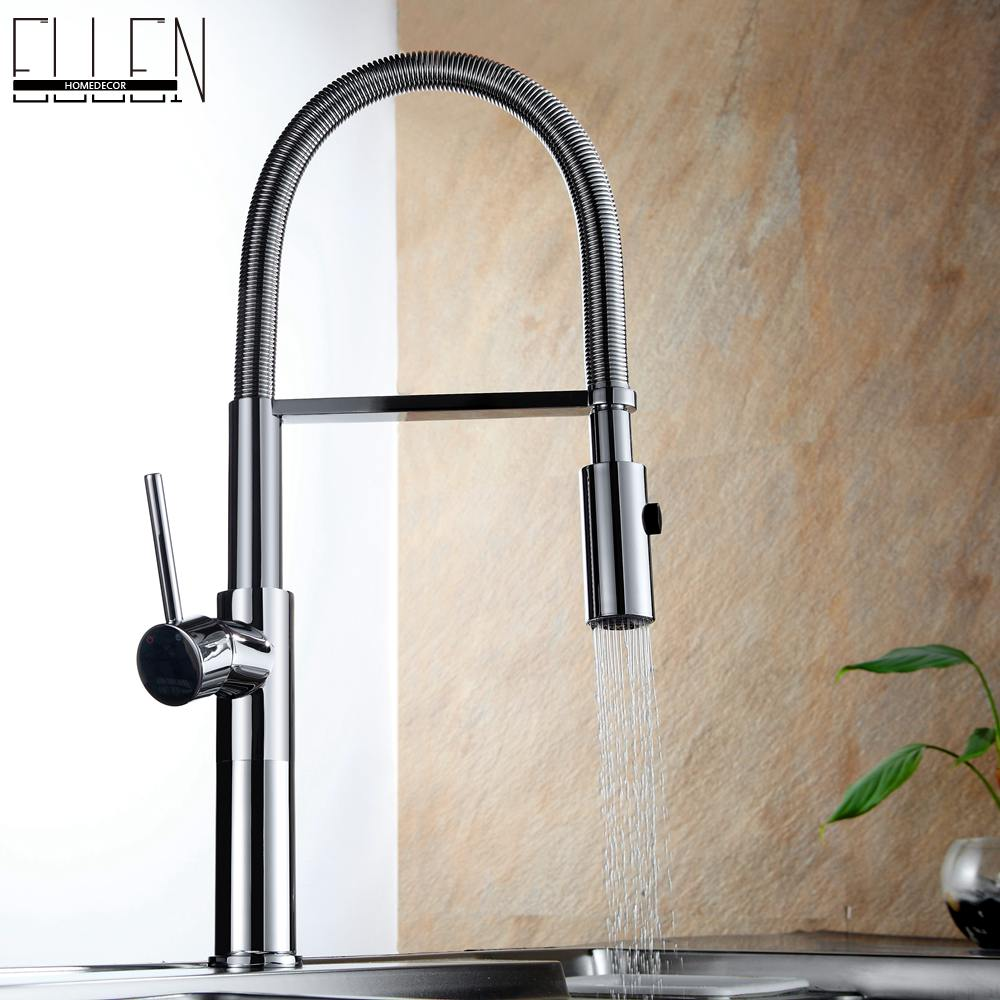 Kitchen Sink Faucets Pull Down Deck Mounted Mixer Tap 360 Degree Rotation Mixer Tap Crane For Kitchen gappo kitchen sink mixer tap kitchen faucet mixer single hole deck mounted kitchen faucets tap mixer crane torneira para cozinha