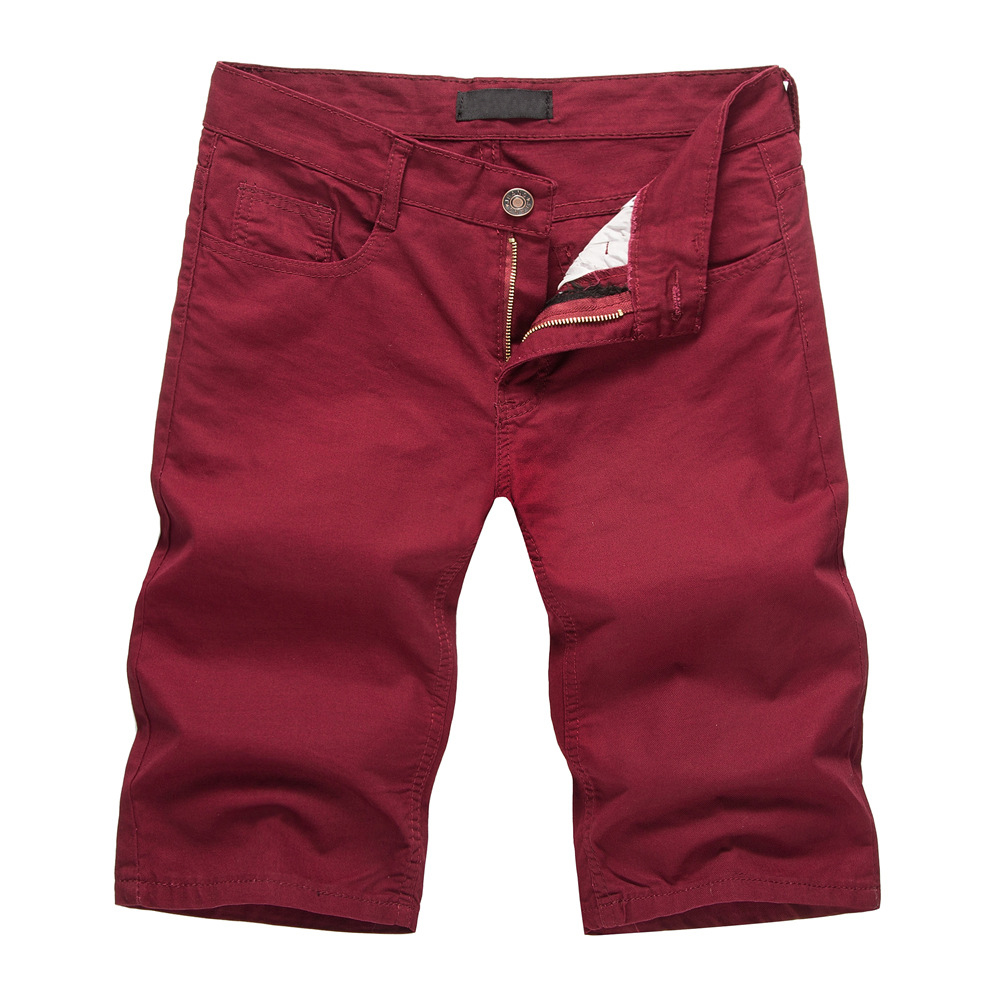 2018 Mens Shorts Casual Bermuda Compression Male Solid Color Cargo Shorts Men Cotton Fashion Men Short Summer Linen