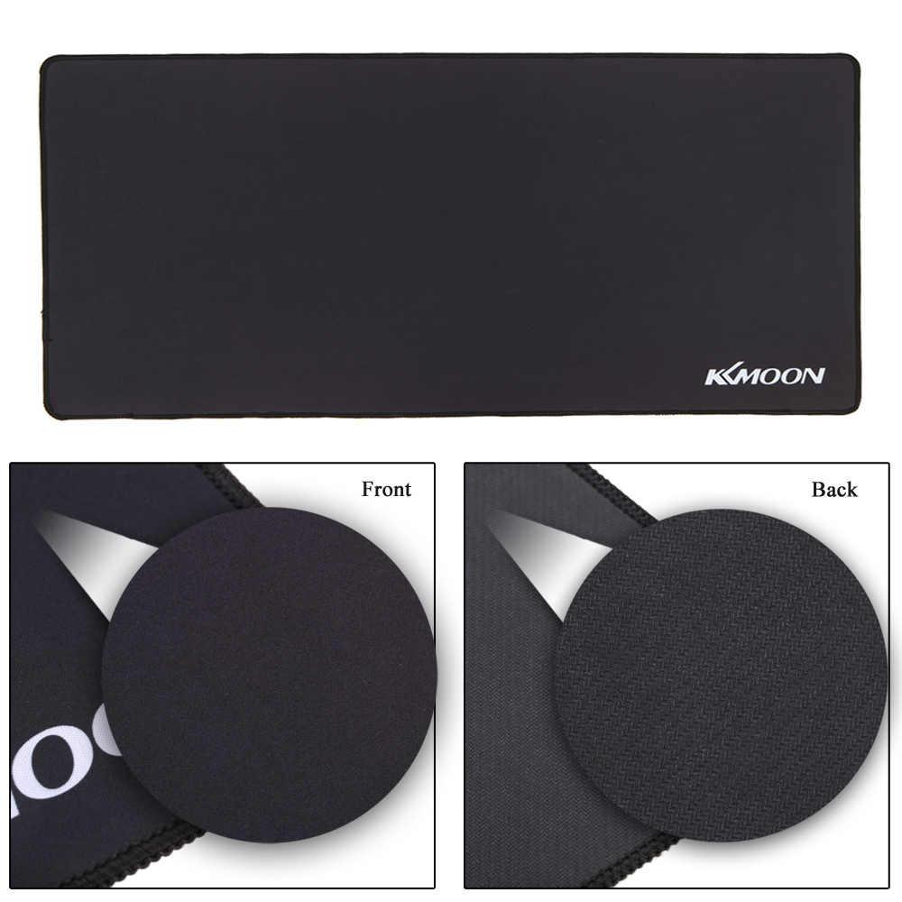 Игровой коврик для мыши KKmoon, большой размер, простая удлиненная Нескользящая игровая коврик для мыши, Настольный коврик для lol surprise Comouter