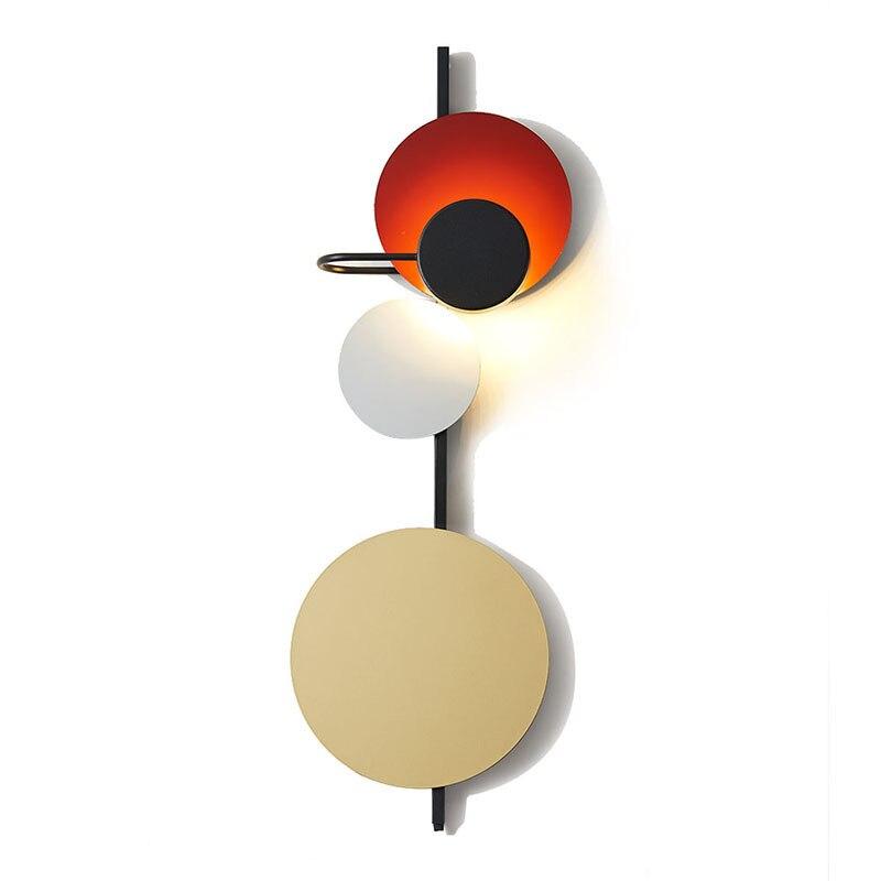 Norte da Europa Pós Escadas de Design Retro Moderno Levou Luz de Parede de Luxo Café Sala de estar Quarto Cabeceira Led Home Da Parede Estrela lâmpada - 2