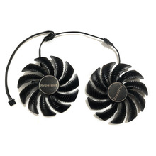 T129215SU 88mm GPU Cooler Graphics card fan for REDEON AORUS RX580/570 GIGABYTE GV RX570AORUS GV RX580AORUS Cards As Replacement