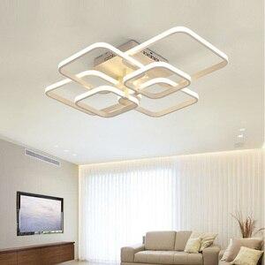 Image 5 - Moderne LED Kronleuchter Beleuchtung Für Wohnzimmer Mit Fernbedienung Schlafzimmer Wohnkultur Lampen Esszimmer Restaurant Leuchten Glanz