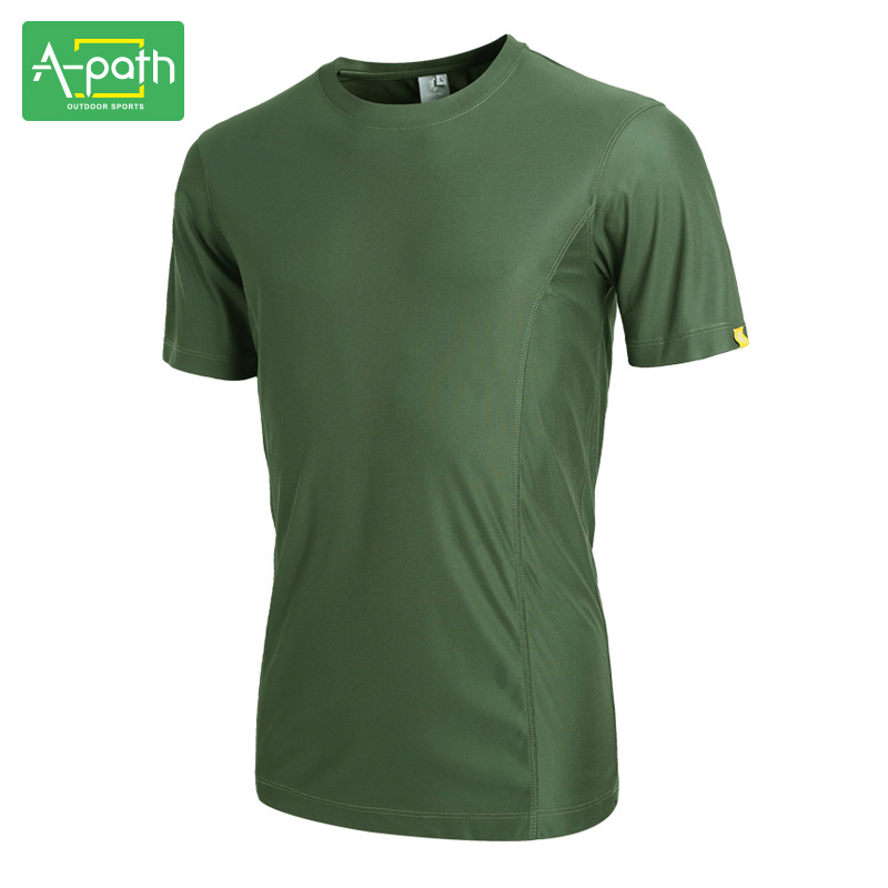 New Summer Man Outdoor T Shirt Sports Jersey Cotton Quick Dry Easy - Sportswear and Accessories - Photo 1