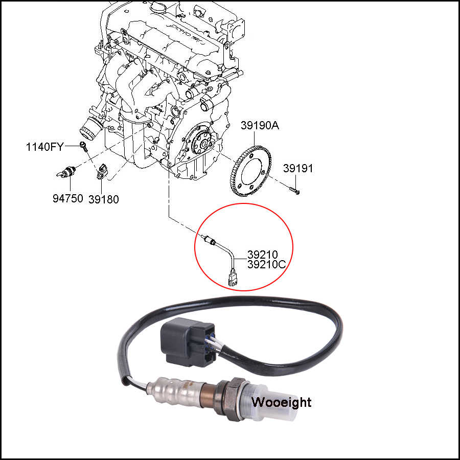 2005 kia sportage heater wiring replacement o2 oxygen sensor 3921023710 car accessories for  replacement o2 oxygen sensor 3921023710