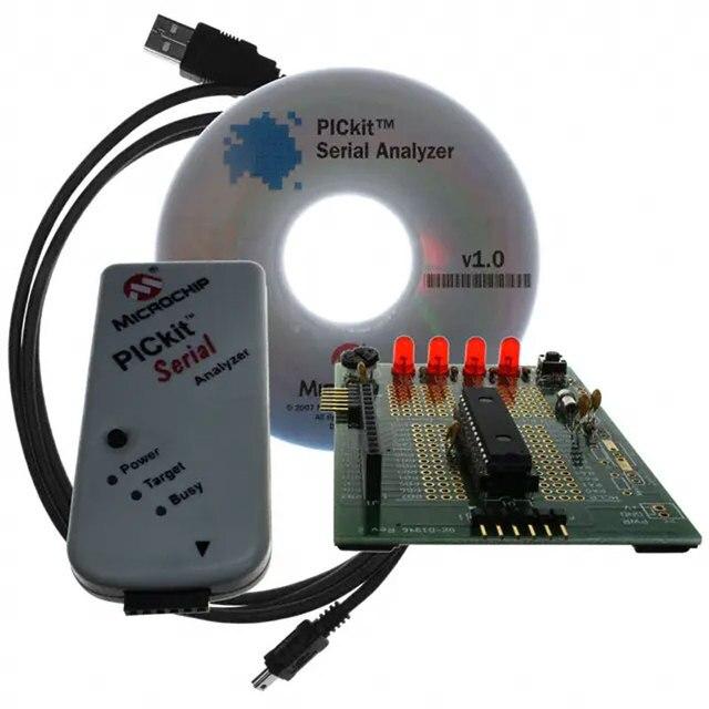 1 個の x DV164122 PIC16F886 Pickit 2 シリアルアナライザ PIC mcu と 8 ビット組み込み評価ボード