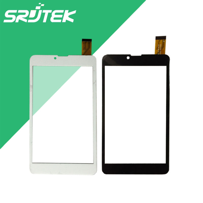 Srjtek 7'' Inch Tablet Capacitive Touch Screen Replacement For <font><b>BQ</b></font> <font><b>7010G</b></font> <font><b>Max</b></font> 3G YJ371FPC-V1 Tablet Digitizer External screen image