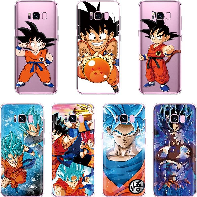 Humorous Lavaza Goku Dragon Ball Z Dbz Hard Phone Case For Samsung Galaxy J6 J5 J1 J2 J3 J7 2017 2016 2015 Prime J7 Eu Version Cover Half-wrapped Case
