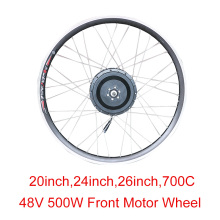 48v 500w High Speed Brushless Gear Hub Motor Wheel 202426700C E-bike Motor Front  Wheel Drive Electric Bicycle Accessories 48v 1600w central drive high speed brushless dc motor 5000rpm electric bicicleta eletrica brushless motor wheel