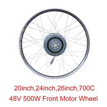 Rueda de Motor sin escobillas para bicicleta eléctrica, cambio de buje de...