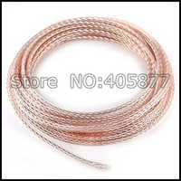 10Meter OCC 8-Core Pure Copper + Silver-Plated Bulk Cable For HiFi DIY Headphone Upgrated Cable Audio Cable