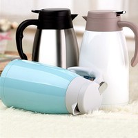2L Stainless Steel Thermos Multicolor Insulated Mug Coffee Water Coffee Teapot Vacuum Bottle Kettle