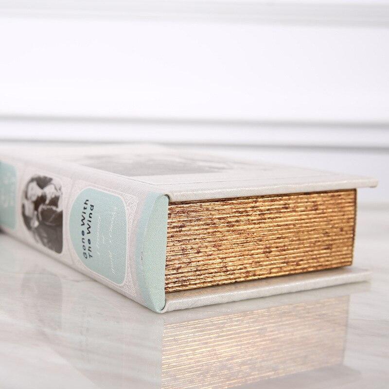 Деревянный ящик для хранения Ретро Европейский Стиль Сейф книга наличные деньги ювелирные изделия Организатор Box Caixa де armazenamento